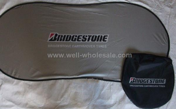 Promotional Polyester Car sunshade