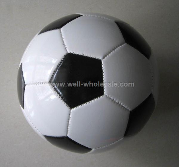 Branded soccer ball