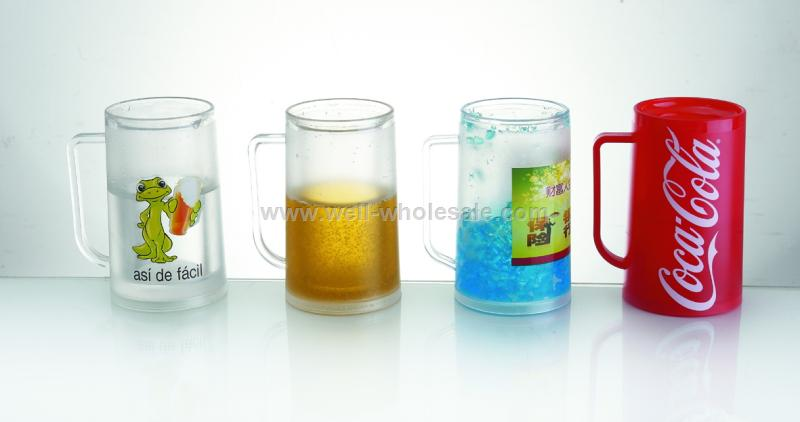 Cooler and Ice Beer Mugs