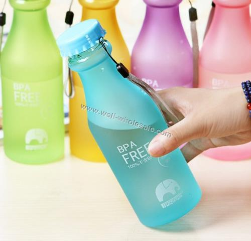 plastic promotional bottle
