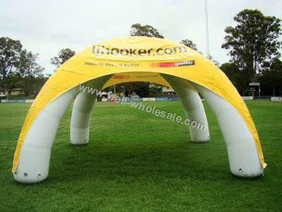 custom inflatable tent