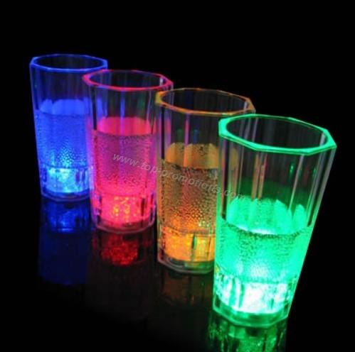 Led flashing glasses/cup