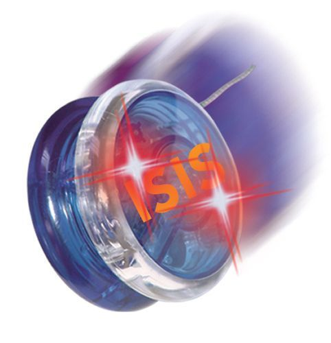 Flashing plastic led yoyo