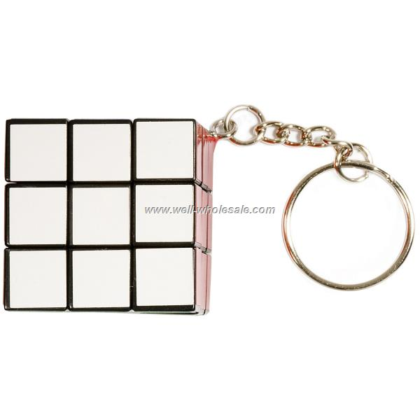 Micro Rubik's Cube Key Holder