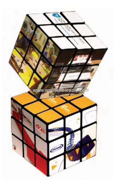 Rubik's 9 Panel Full Size Custom Cube