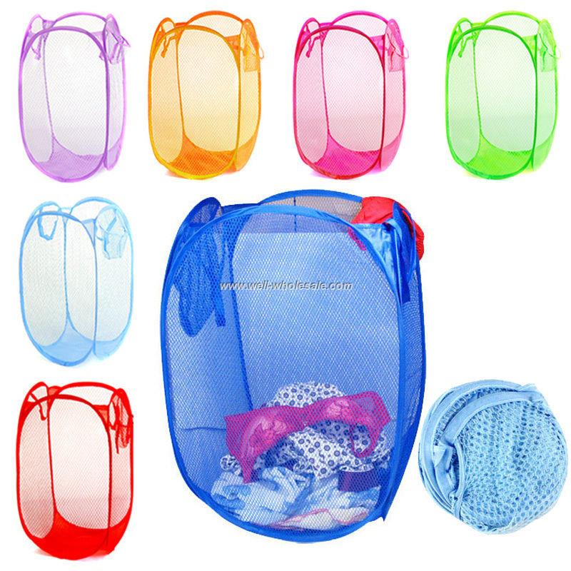 Cheap Folding Polyester Laundry Basket
