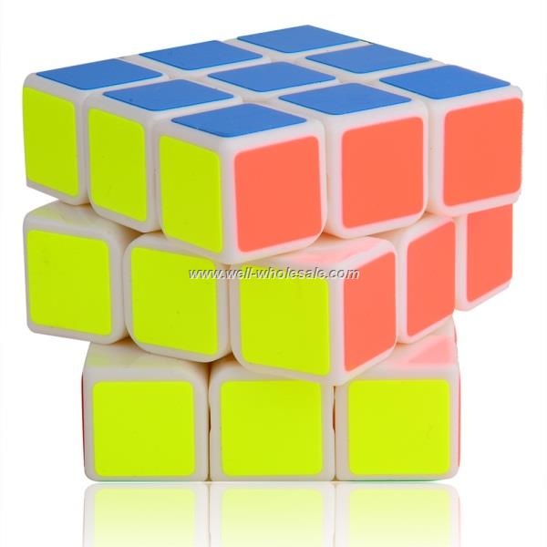 YJ MoYu ChiLong 3x3x3 Magic Cube White