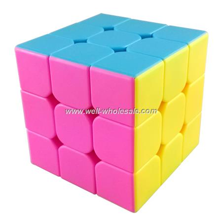 MoYu AoLong V2 Stickerless 3x3x3 Speed Cube Pink Version