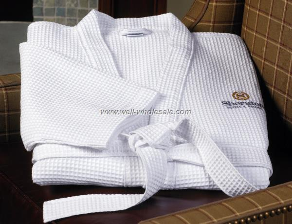 cotton spa robe