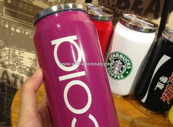 Trendy Stainless steel Vacuum Coke thermos