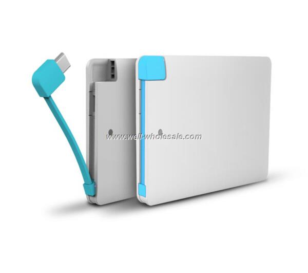 credit card power bank portable power bank
