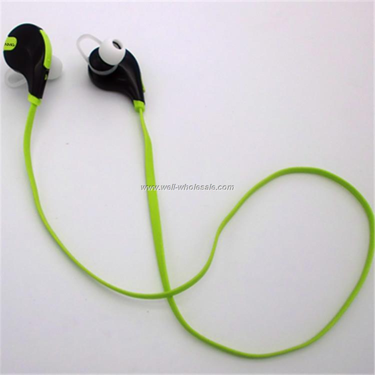 Newest Bluetooth Wireless Stereo Sport In-ear wire Earphone with Mic and Control