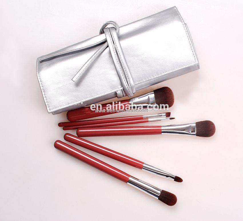 2015 hot sell economic girls makeup brush set