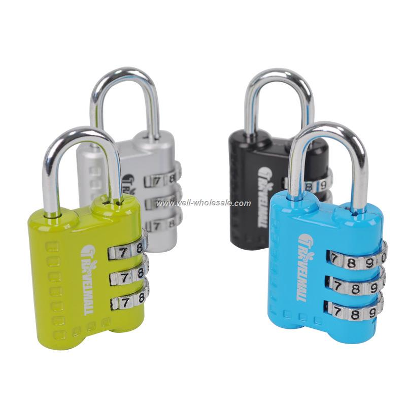 Mini high-end color coded lock