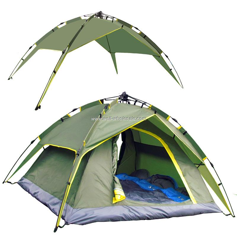 windproof outdoor camping tent/outdoor inflatable camping tent