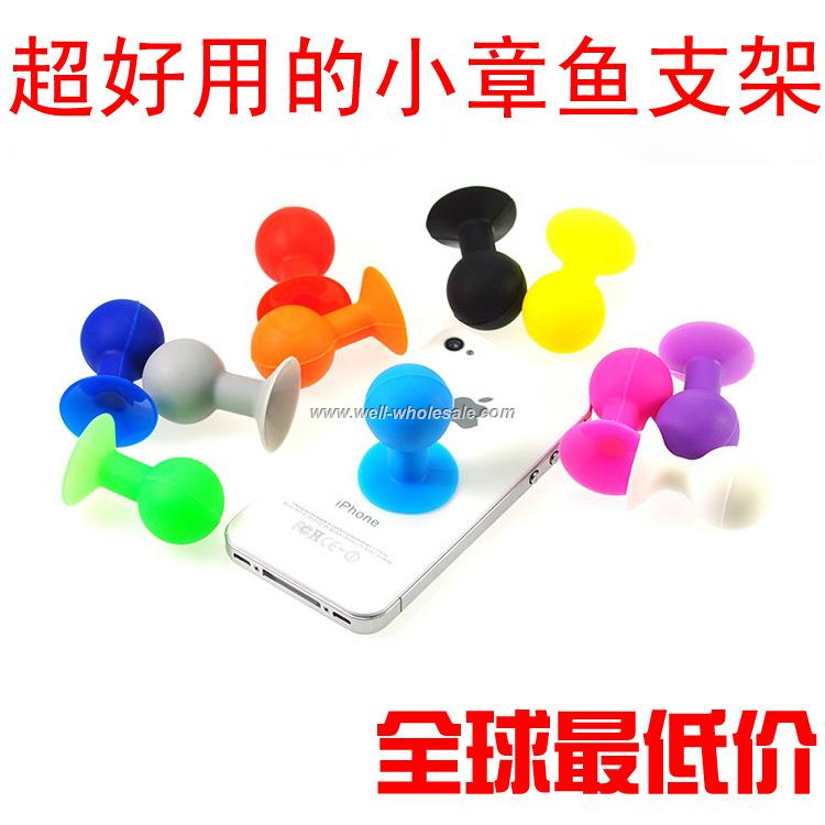 2015 silicone suction cup phone stand phone holder Auto accessories