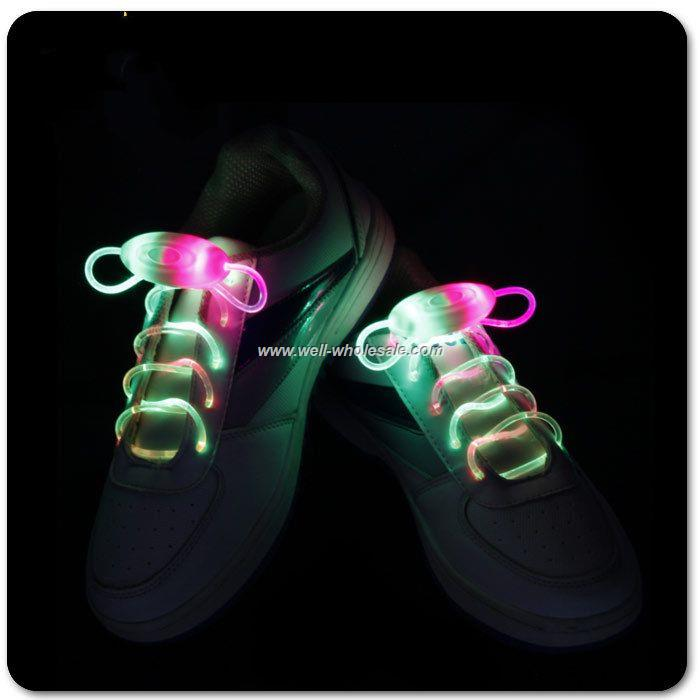 LED shoe laces,Flashing shoe laces