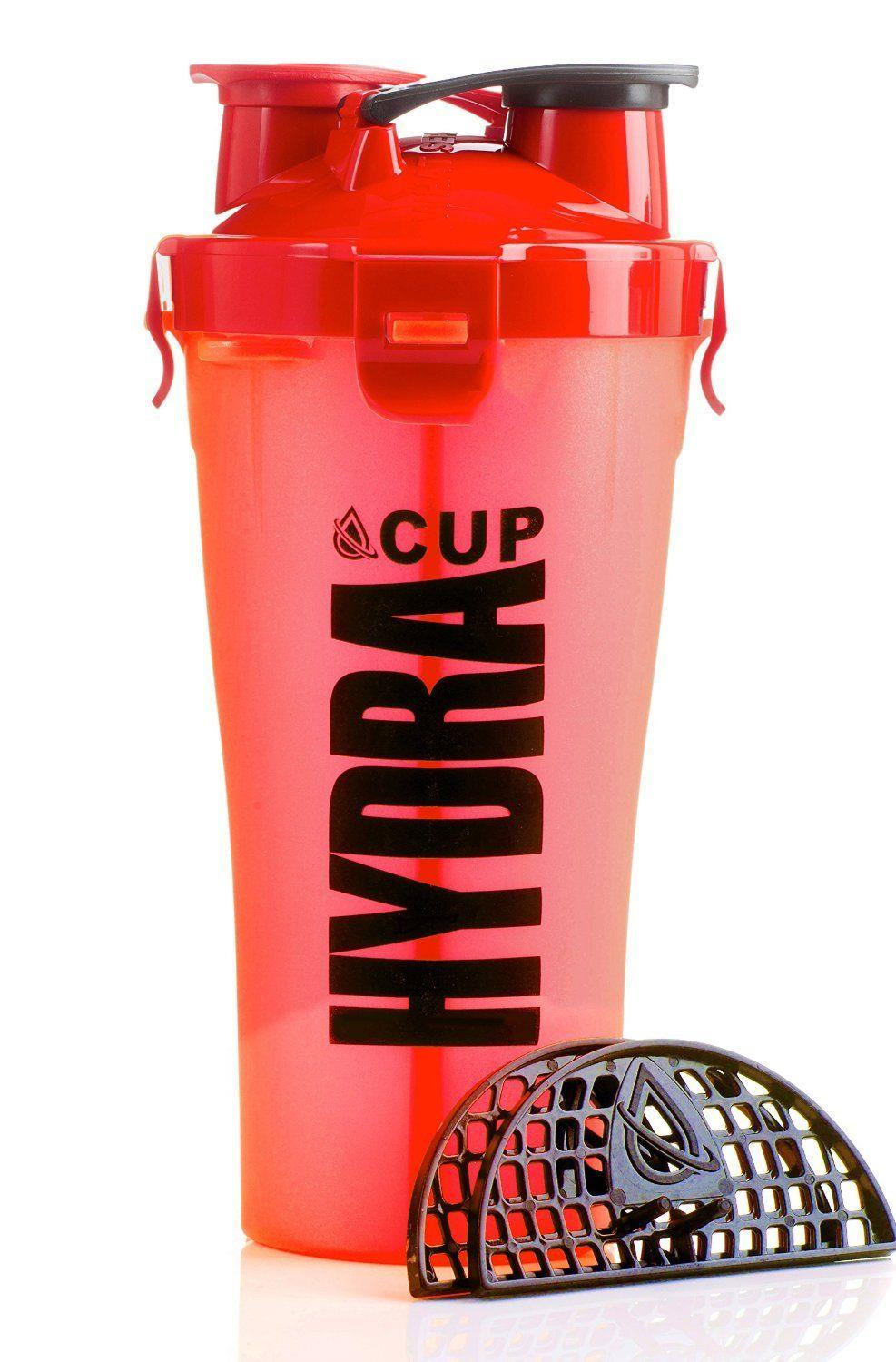 2 in 1 dual cup Water bottle