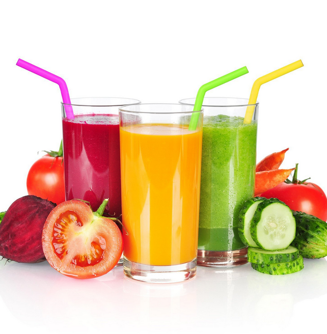 food grade eco friendly colorful reusable silicone drinking straw