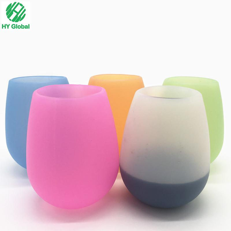 Food Grade Foldable Silicone wine cup