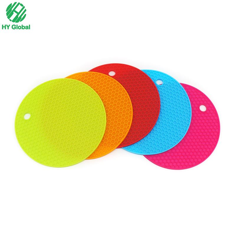 Hot Pot Pads Silicone Coaster,Silicone Rubber Cup Mat