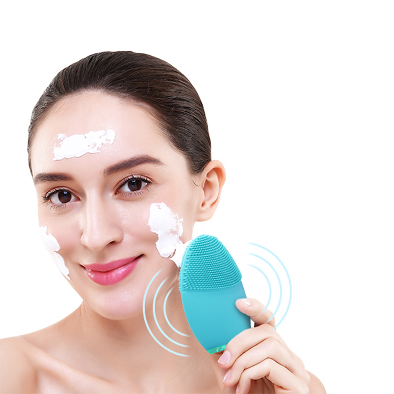 Electric Facial Cleansing Brush Homemade Beauty