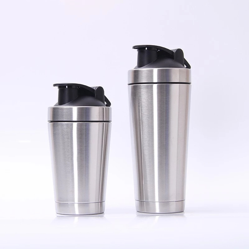 Customized Logo Stainless Steel Protein Shaker Bottle