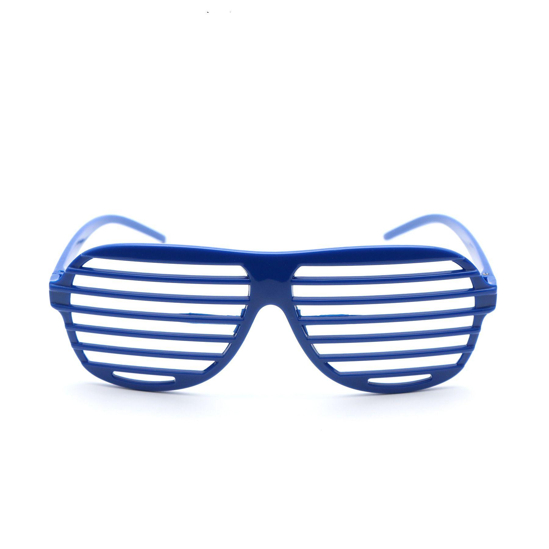 Plastic Sunglasses,Rainbow Shutter Shades Custom Sunglasses