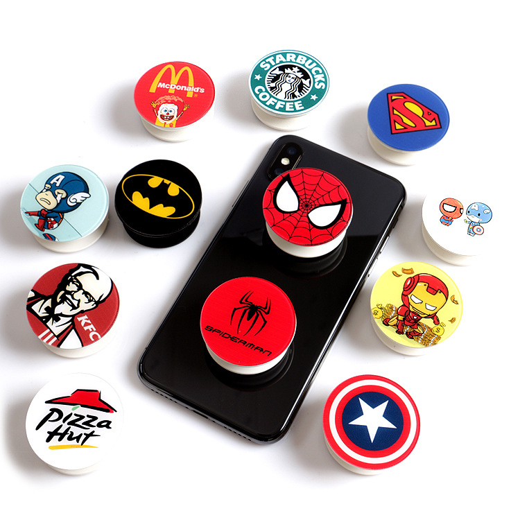 POP SOCKET phone holder grip and custom pop mobile holder socket with logo