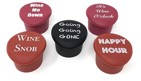 Custom Craft Silicone Vacuum Wine Bottle Cork Stopper Blank Silicone Wine Stoppers
