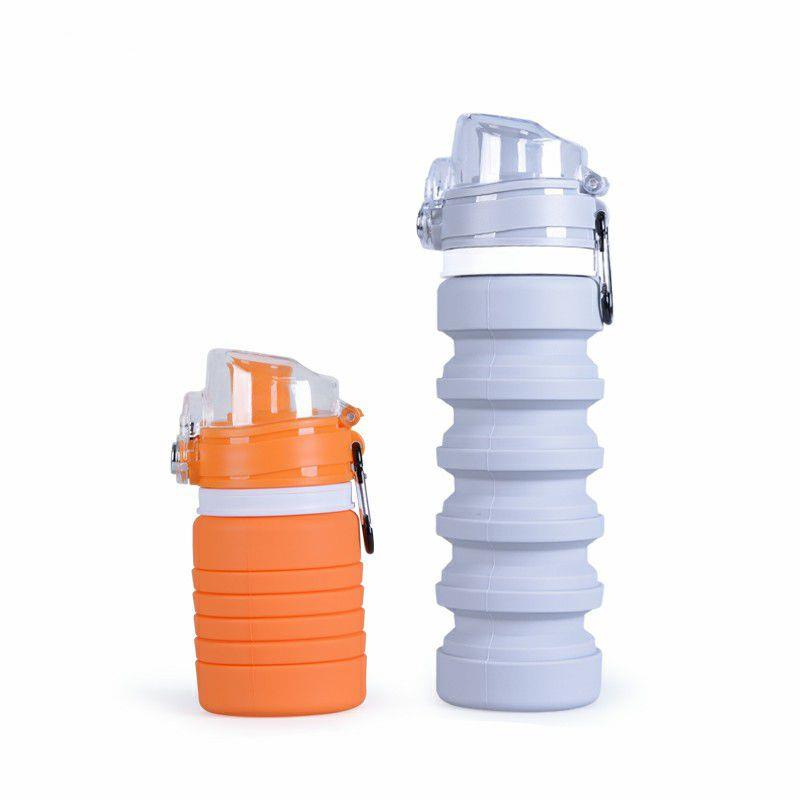 Wholesale New Arrival BPA free Sport Silicone Collapsible Water Bottle