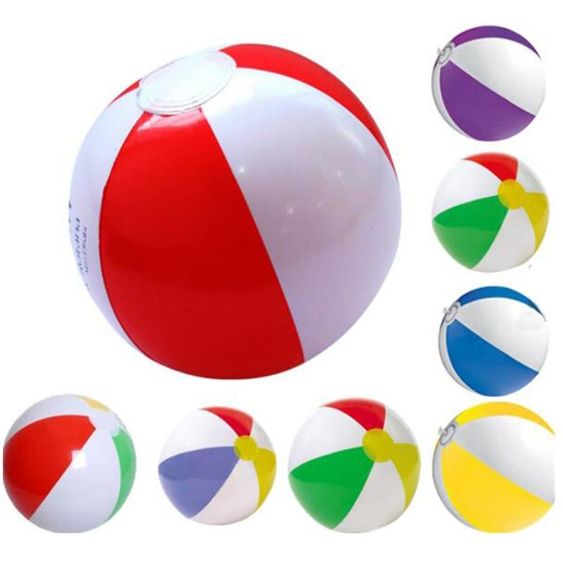 Customized promotional pvc inflatable beach ball