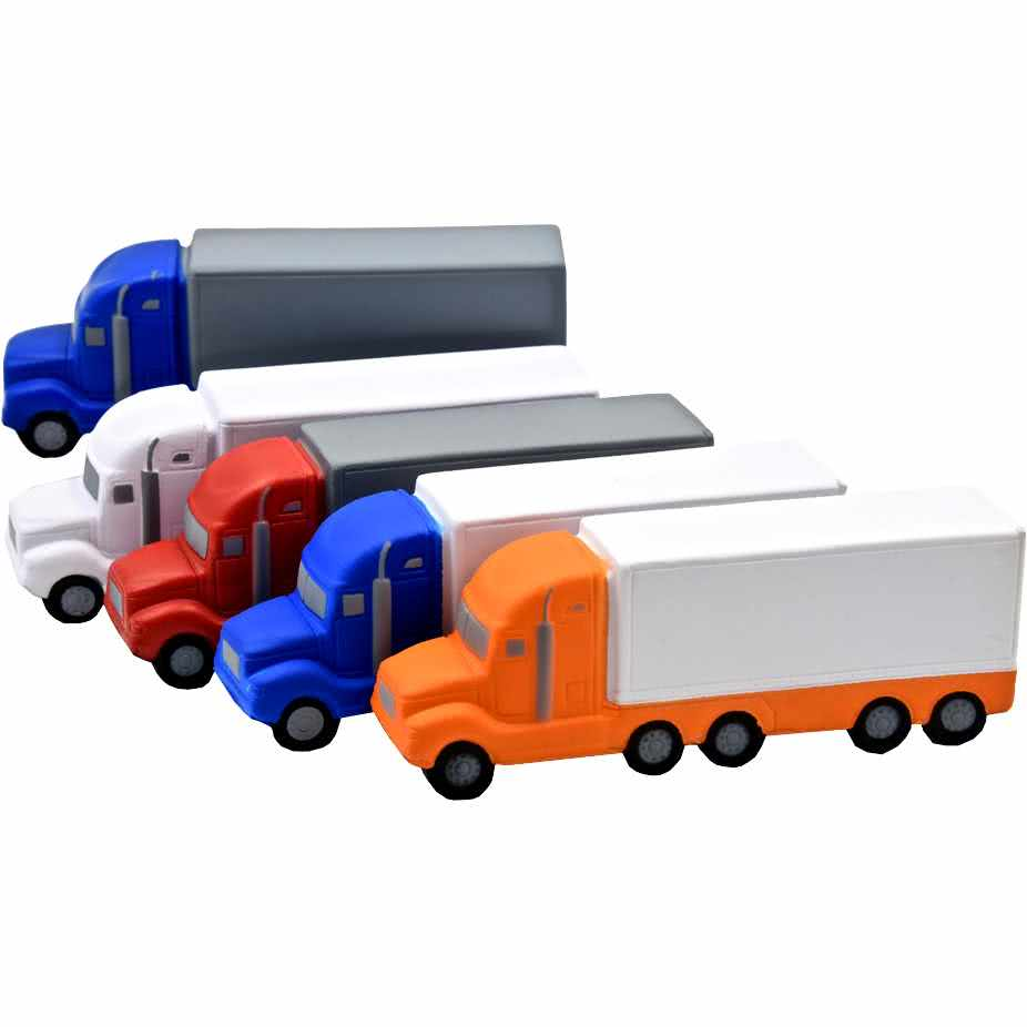 Customizable High Detail Semi Truck Stress Toy