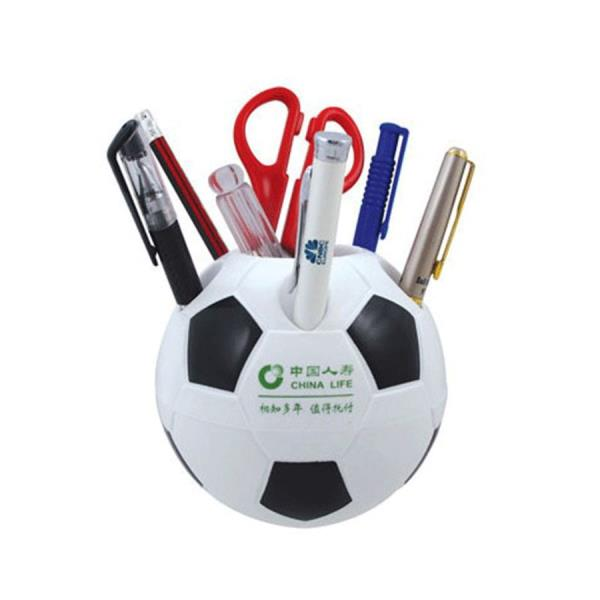 plastic football shape pen holder