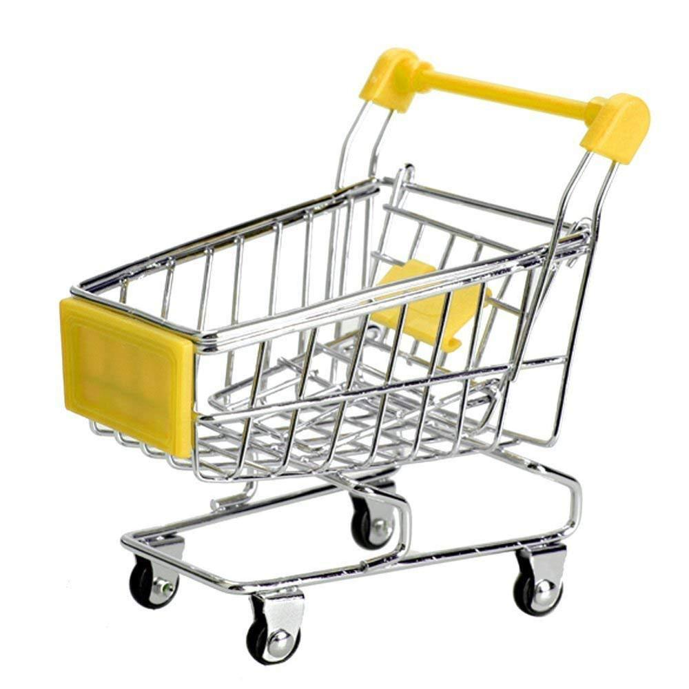 Kid toy supermarket mini medium shopping trolley