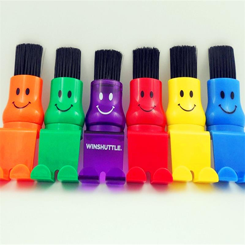 colorful mini pvc computer keyboard cleaning brush