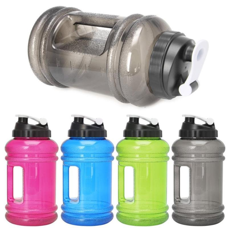 2.2l petg water bottle with side handle Large Capacity Water Bottles Sports Outdoor Gym Fitness Space Cup