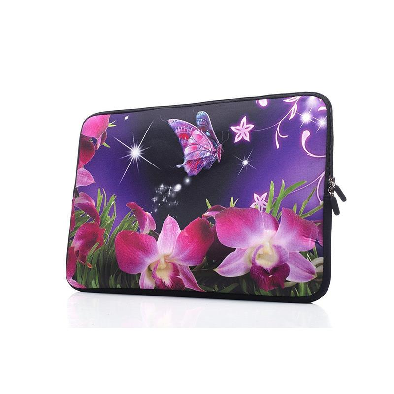 Full printing neoprene material travel laptop neoprene bag