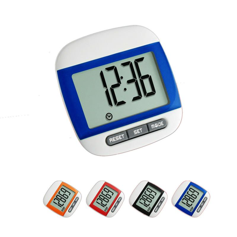 Mini LCD multifunction digital pedometer