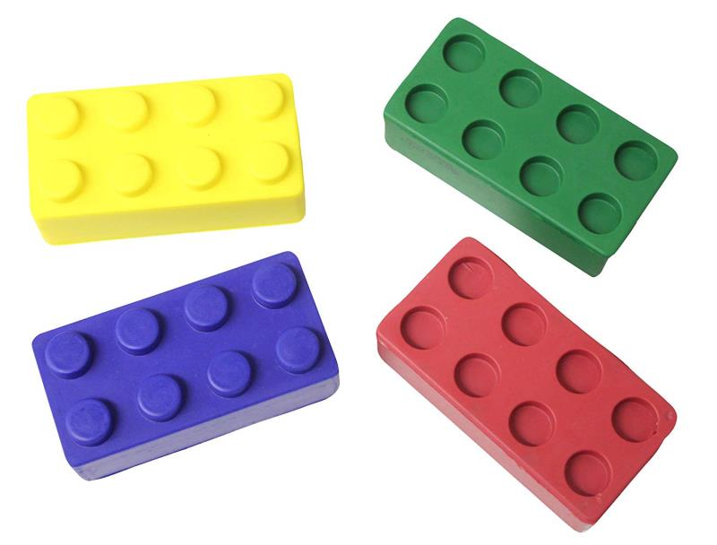 Advertising Logo Foam PU Relief Brick Stress Toy