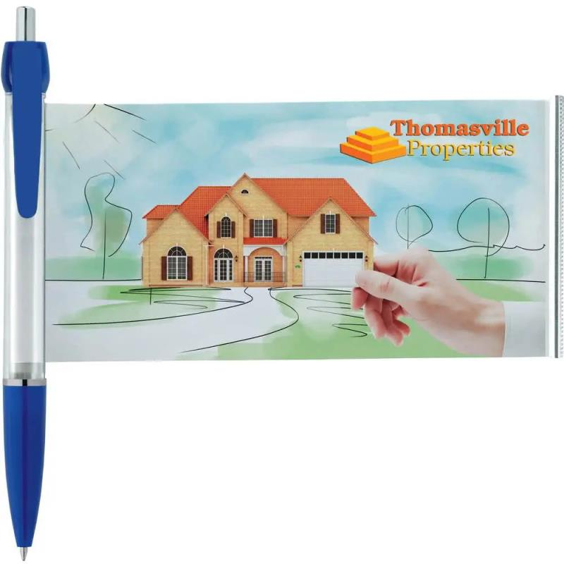 Promotional Retractable banner pens flag pens for Advertising