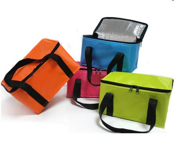 Custom waterproof insulated non woven lunch cooler bag