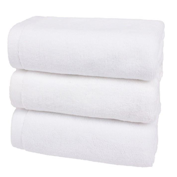 Wholesale Custom Logo Blank Towel White 100% Cotton Plain Quick-dry Hand Towels