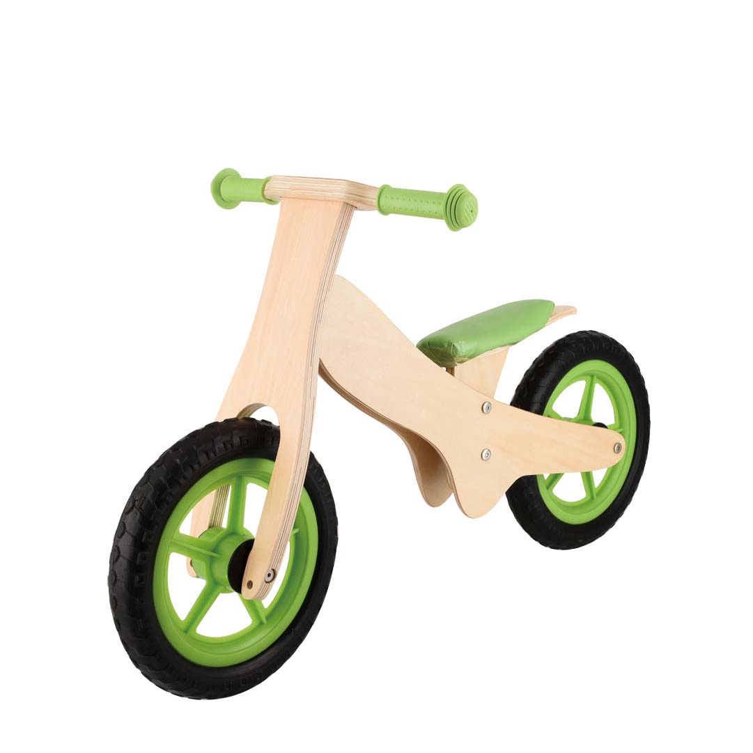Wholesale cheap children wooden balance bike without pedals