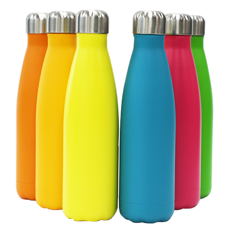 350ml-1L Double Wall 304 Stainless Steel Vacuum Flask/Vacuum Water Bottle with Customizable Logo