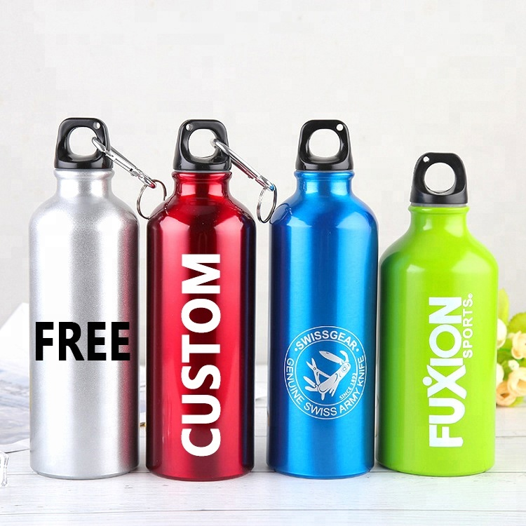 Promotional Sports Waterbottle Aluminum Water Bottles with Custom Logo