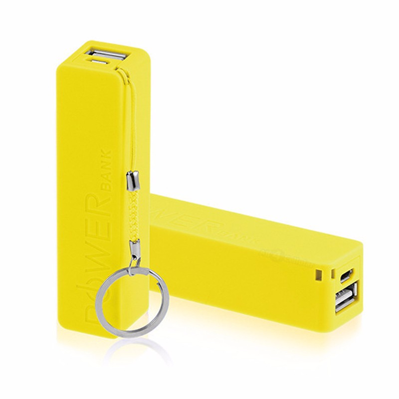 2020 new promotional gift consumer electronics travel power bank 2600mah, portable charger